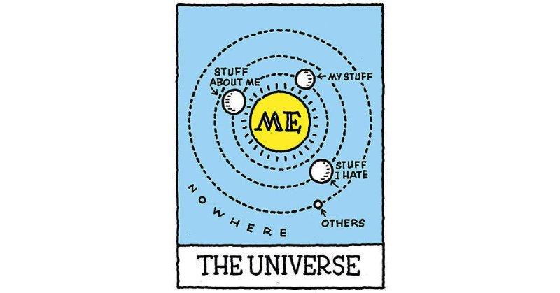 The universe cartoon