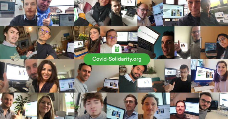 Make Covid Solidarity volunteers' work easier