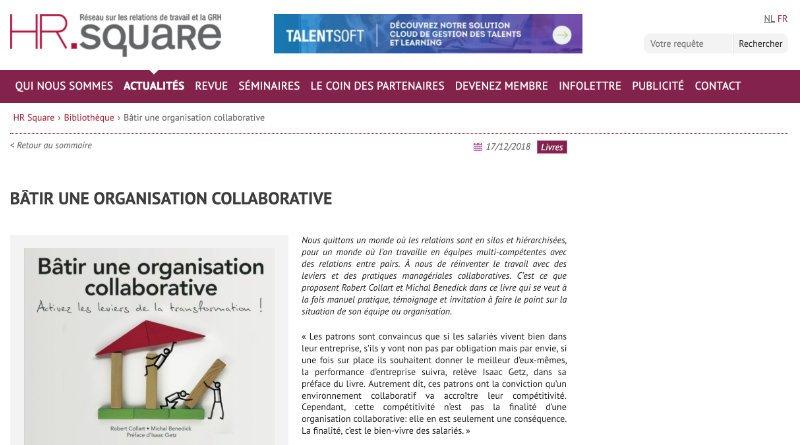 Bâtir une organisation collaborative