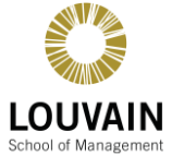 Louvain School of Management logo