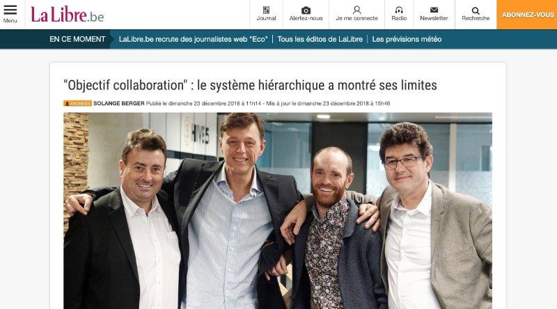 Objectif collaboration - La Libre