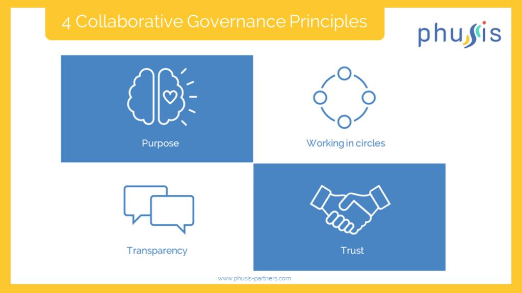 4 collaborative governance principles