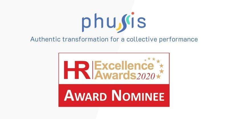 Phusis nominated for HR Excellence Awards 2020