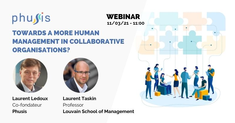 Webinar Towards a more human management in collaborative organisations?